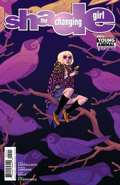 Shade, The Changing Girl #5 - Earth Girl Made Easy Chapter 5: Girl Furious; Life With Honey (Issue)