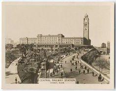 Central Railway Station, Sydney. 1925-1932