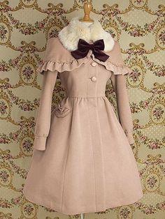 MM Eleanor Coat in Rose or Milk Tea
