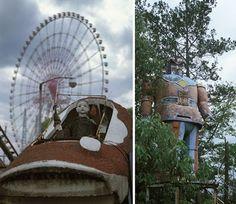 Wonderland abandoned amusement park in China