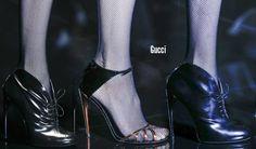 Sexy Gucci's @ Milan Fashion Week Fall 2013 #theeshoecloset