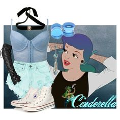 """Punk Cinderella"" by sabrinav625 on Polyvore"