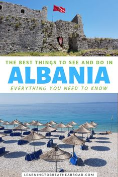 4 Week Albania Itinerary: Awesome Places to Visit in Albania, TRAVEL, The Best Things to See and Do in Albania. A comprehensive travel guide to with in-depth information on what to see, what to do and where to stay in Al. Albania Travel, Visit Albania, Europe Travel Guide, Europe Destinations, Travel Deals, Travel Guides, Travel With Kids, Family Travel, Couple