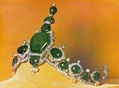 Emerald Tiara - Maharadjah de Kapurthala - Cartier 1926
