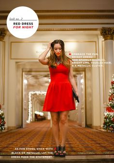 Fashion Essentials: Little Red Dress #theeverygirl