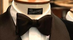 How To Tie Your Own Bow Tie ♛ Gentlemen, wear your bow tie's correctly. A man's bow tie is meant to be straight and firm, not crooked and loose. The bow tie says a great deal about the man.