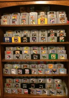 Very cool way to display N64 games since they have no side label.
