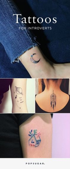 34 Tattoos Perfect For the Wallflower Types