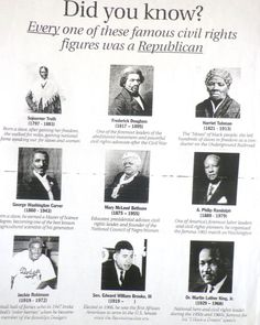 Black Republicans- the Democrats don't want you to know. Civil Rights Figures, Mary Mcleod Bethune, Black Republicans, George Washington Carver, Frederick Douglass, Harriet Tubman, Conservative Politics, God Bless America, We The People
