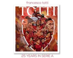 Francesco Totti made his first appearance of 2017 today, his 25th successive year in Serie A. From 1993 to 2017, Francesco Totti has now played in 25 calendar years! #Captain #Legend #ASRoma #SerieA #Calcio #Totti #10