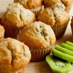 Kiwi Muffins Recipe | Healthy Kiwi Fruit Recipes and Nutrition