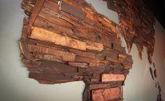 wood world map - Google Search
