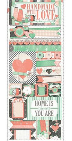 Pincushion - Handmade With Love Sticker