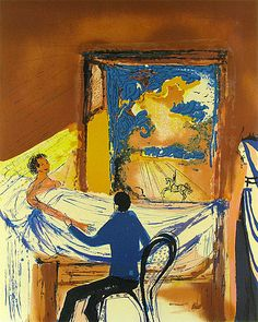 Salvador Dali, The Doctor (The Fight Against the Evil) 1980