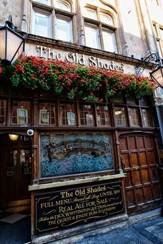 The Old Shades Pub, 37 Whitehall, Westminster, London