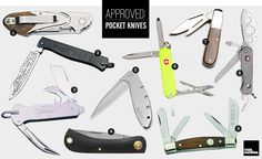 Approved: Pocket Knives | Cool Material