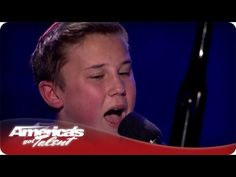 14 Year Old Plays Piano and  Sings - #AGT Season 7 - Edon Las Vegas Performance / America's Got Talent