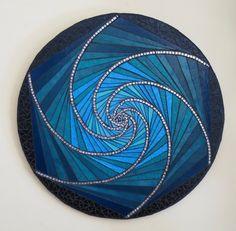 Mosaic Wall Art, Mosaic Glass, Glass Art, Mirror Glass, Stained Glass Projects, Stained Glass Patterns, Jane Russell, Mosaic Garden, Dichroic Glass