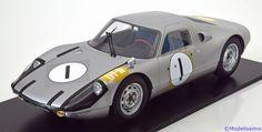 Rennsport Spark 1:12 Porsche 904 GTS Sieger GP Japan  1964 silber Limited Edition 200 pcs. www.modelissimo.de