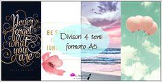 Free Printable - Divisori 4 Temi