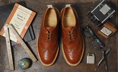 Tricker's for End Hunting Co. Part I – Long Wing Country Brogue