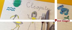 #enjoymeal per tutti i #bambini con le tovagliette colorate di Pucci Zagari | http://chiostrodelbramante.it/info/store/