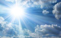 Sun Wallpaper HDis free HD Wallpaper Thanks for you visiting Sun And Clouds Wallpaper PixelsTalk.Net HD Wallpaper in My Webite. Sun And Clo. Carillon Koshi, Mormon Beliefs, Mormon Doctrine, Sun Stock, Cloud Wallpaper, Nature Wallpaper, Sun And Clouds, Blue Clouds, Flat Earth