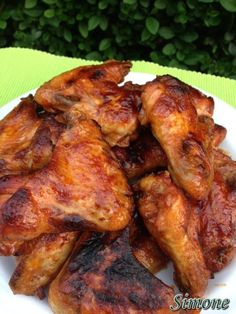 Smoothie Fruit, Kfc, Sweet And Salty, Tandoori Chicken, Chicken Wings, Poultry, Chicken Recipes, Grilling, Pork