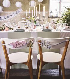 Hochzeitsdekorationen Frühling 2018 von Depot