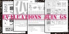 Evaluations juin grande section Maternelle Grande Section, French Education, French Teacher, Teacher Hacks, Assessment, Montessori, Back To School, Language, Teaching