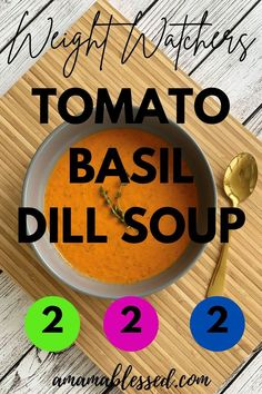 Searching for Weight Watchers recipes? Looking for WW blue plan recipes, ww purple plan recipes, or ww green plan recipes? This is one of the best Weight Watchers soup recipes. This easy soup recipe will warm your belly and please your tastebuds! #ww #weightwatchers #weightwatchersrecipes #wwrecipes #souprecipes #healthysouprecipes #tomatosouprecipes