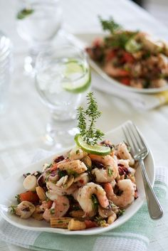 Easy Shrimp Salad with Baby Corn  5 Fragrant & Beautiful Cold Lunches for Really Hot Summer Days  https://www.toovia.com/do-it-yourself/5-fragrant-beautiful-cold-lunches-for-really-hot-summer-days