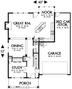 Plan No.324612 House Plans by WestHomePlanners.com