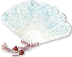 Mirkwood Designs - Folding Fan Card