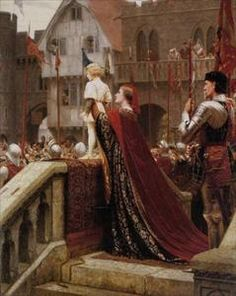 'A little prince likely in time to bless a royal throne ' by Edmund Blair Leighton The Art of Mr. E. Blair Leighton :: artmagick.com