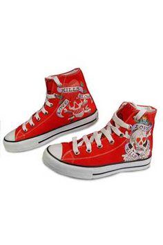ED HARDY Ladies Sneaker Shoes #13 ; $69.99