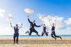 Brendan and Lisa: Oh what a feeling! | Photo: Envision Photography |  #kingfisherbay #fraserisland #destinationwedding #fraserislandwedding #fraserwedding http://www.fraserislandweddings.com.au/ #AccorAustralia #Mercure