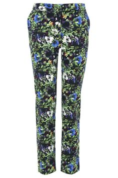 Floral trousers -print by owens and kim