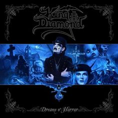 "King Diamond's ""Dreams of Horror"" is the only ""best of"" album covering the band's entire career. King Diamond and Andy LaRocque meticulously mastered and enhanced these 23 songs into the ultimate editions, chosen by the band from both the Roadrunner and Metal Blade catalogs."