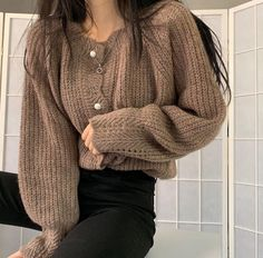 Cute Casual Outfits, Simple Outfits, Pretty Outfits, Fall Outfits, Fashion Outfits, 80s Fashion, Fashion Fall, Cozy Winter Fashion, Vintage Fashion