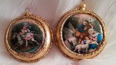 #Medaliony #decoupage #BożeNarodzenie #handmade #dekoracjeświąteczne #christmas #christmasdecorations #homedecor #decoupage #christmastree