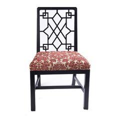 餐椅 进口实木框架+布艺软包 FDK828C W560*D590*H950 mm