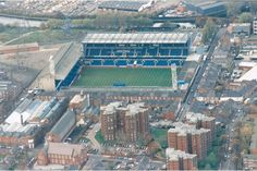 Filbert Street, the former home of Leicester City FC & only about 500 yds away from the new Walkers Stadium, as was Leicester City Football, Leicester City Fc, Football Stadiums, Football Tops, Leicester England, Bristol Rovers, British Football, Association Football, Sports Stadium