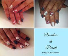 Spring nails! #nailart #nails #nailswag #nailsalon #kalamaria #skg #thessaloniki #beautysalon #beauty #naildesign #nailpolish #boudoirdebeaute #boudoir_de_beaute #manicure #nails_greece #nailsoftheday #nailporn #nailaddict #spring