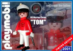 """US Marine """"Tom"""" // The image and figures do not necessarily reflect the opinion of Playmobil. #playmobilcustom"""