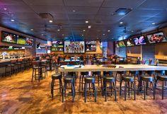 sport bar seating chart - Google Search