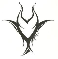 Maleficent tattoo. Perfect for @Dana Hammack                                                                                                                                                                                 More