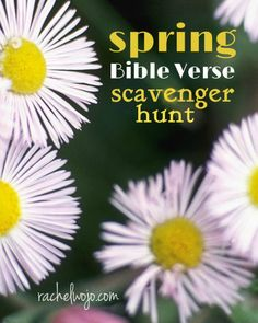 Perfect for some outdoor fun! Print the printable, find the scavenger hunt items in the Bible verse clues, then take a walk to find the items. GREAT for a photo scavenger hunt too!