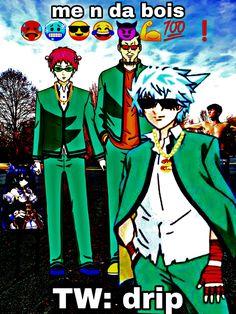 Anime Meme, Funny Anime Pics, Anime Manga, Sprites, Funny Laugh, Haha Funny, Fb Memes, Funny Memes, Psi Nan