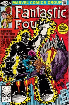 Fantastic Four 229 April 1981 Issue Marvel Comics by ViewObscura